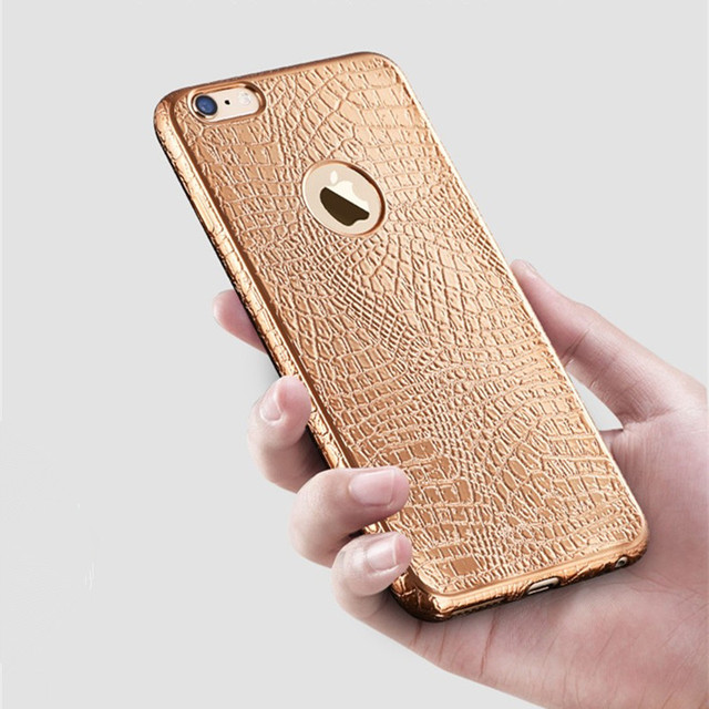 Luxury Crocodile Skin Print iPhone Case
