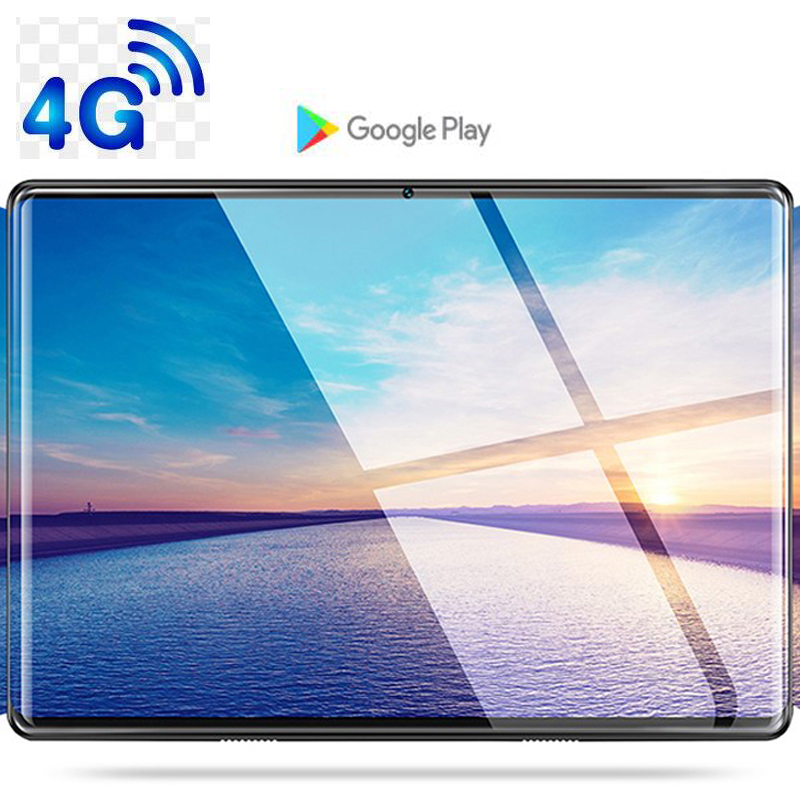 CP9 phablet 10.1 tablette écran tactile Android 9.0 Octa Core Ram 6 GB ROM 64 GB caméra 8MP Wifi 10 pouces tablette 4G LTE Pro pc