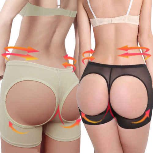 c11639dec Womens Butt Lifter Tummy Control Boy Shorts Shaper Bum Lift Pants Buttock  Enhancer Booty Control Slimmer