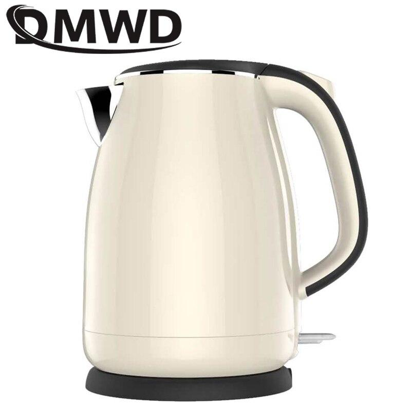 1.8 L Acier Inoxydable 1500 W Bouilloire électrique rapide chauffe-eau Chaudière Pot 220 V