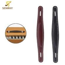 Amplificador de guitarra de cuero SENRHY Estilo Vintage con correa de agarre para Fender Amp partes y accesorios de guitarra gran oferta