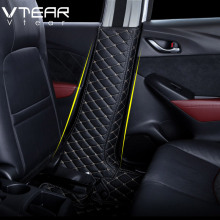 Column-Protection Mazda Cx3 Non-Slip-Mat Cx-3-Accessories Vtear for Cx-3-accessories/Car/Internal/..
