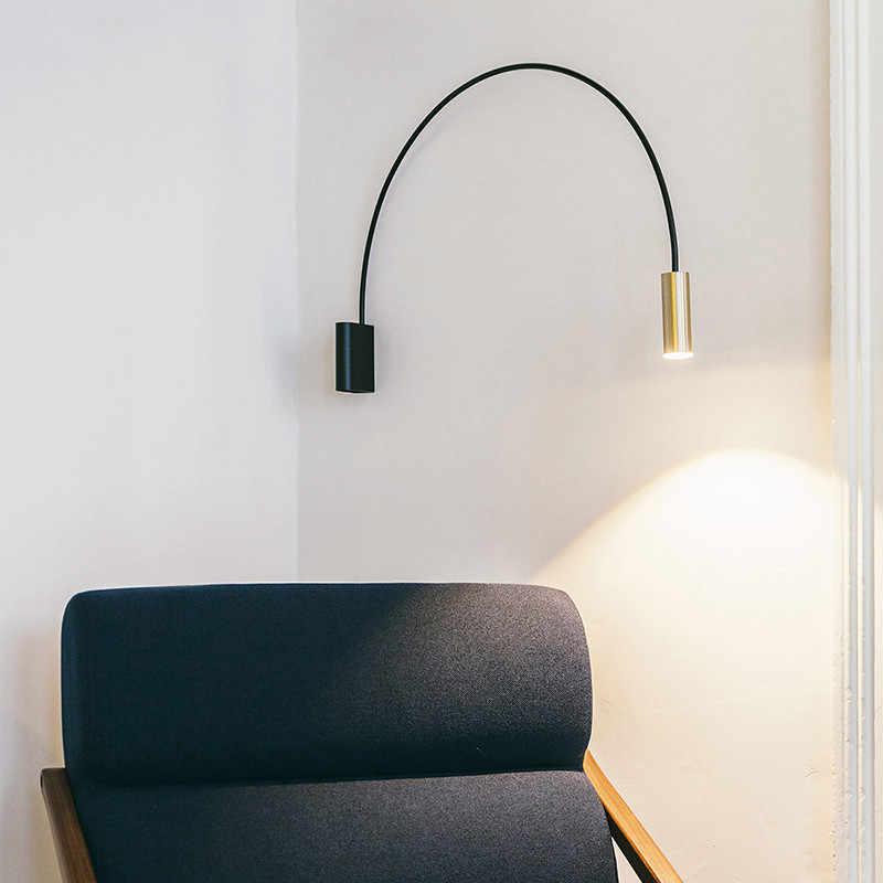 الأسلحة الطويلة جدار مخروط خمر الجدار مصباح ديكور فني إضاءة المنزل تركيبات الذهب بار مقهى مخزن الملابس الجدار ضوء WA113