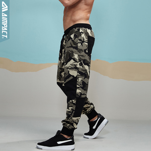 Image 2 - Aimpact Camouflage Jogger Pants for Men Fitted Active Cotton Sweatpants Male Track Pants Hiphop Casual Sporty Pants Man AM5006