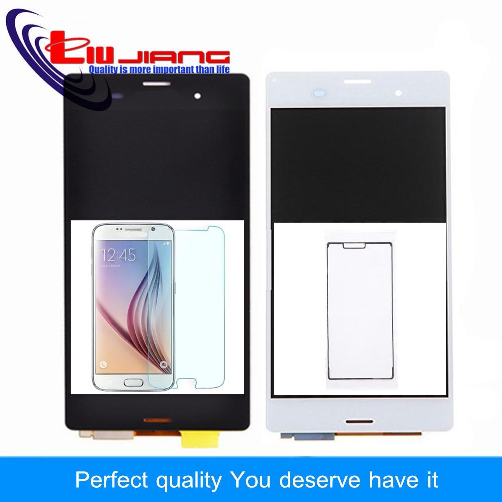 imágenes para Liujiang Nuevo LCD Para Sony Xperia Z3 L55T L55U D6653 D6633 D6603 LCD Screen Display Touch Digitalizador Asamblea