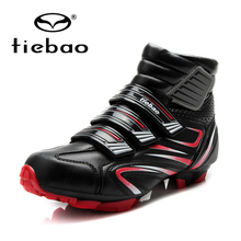 TIEBAO winter cycling shoes Mountain Bike Men sneakers Women sapatilha ciclismo mtb Shoes Windproof superstar Athletic Boots