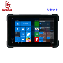 купить 2019 Windows 10 home Waterproof Tablet PC 8 inch intel CPU UBlox M8 GPS GNSS Mapping High Precision Glonass Gps 3G HDMI WIFI дешево
