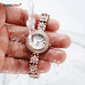 Luxury Rhinestone Bracelet Women Watch Ladies Quartz Watch Women Wristwatch Relogio Feminino Montre Femme Reloj Mujer 6036