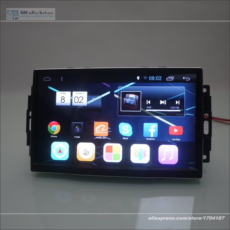 "For JEEP Commander / Compass 2006 ~ 2008 - Car Android Navigation Radio Stereo 10.2"" Screen ( NO DVD Player ) Multimedia System"