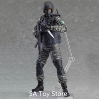 Metal Gear Solid 2: Sons Of Liberty Figma 298 Gurlukovich PVC Action Figure Collectible Model Toy 16cm