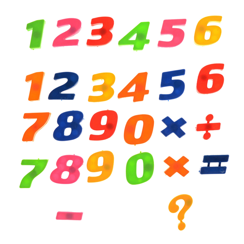 26 Alphanumeric Letters Numbers Fridge Magnet Stickers Kids Math Toys Educational Learning Toys P0