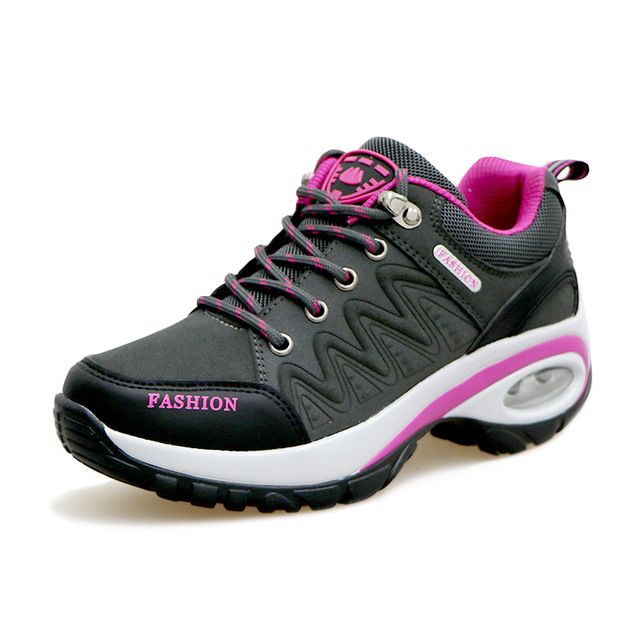 bb126994584d7 NEW Hiking Shoes Women Waterproof Outdoor Survival camping shoes Walking  Sport for Lady Trainers Comfortable Breathable Sneaker