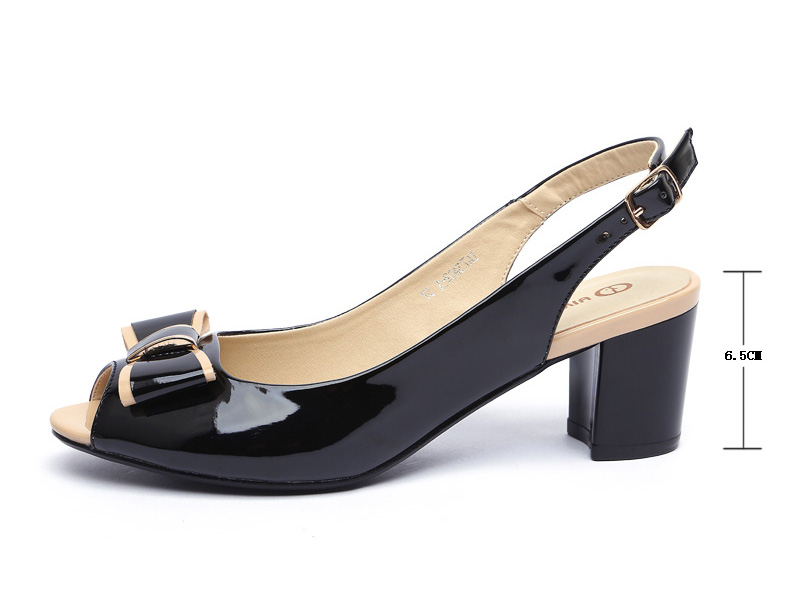 e264ff8dcef Fashion High Heels Peep Toe Sandals Women Summer Open Toe Thick Heel ...