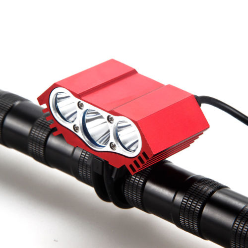 7500LM LED font b Bicycle b font font b Light b font Front 3x XM L