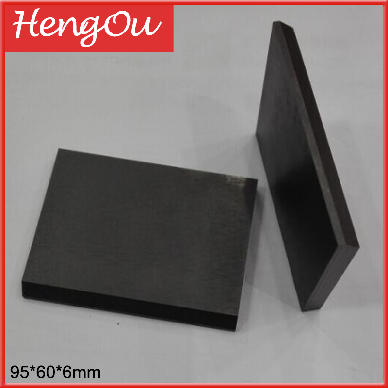 10 pieces free shipping 95 60 6mm carbon vane for Hengoucn printing machine pump Graphite rotor