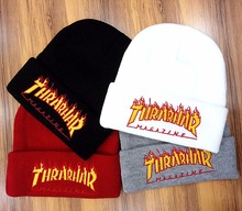2017 New Fashion Knitting String Thrasher Beanie Hat