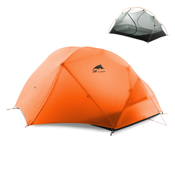 3F UL GEAR Floating Cloud 2 Camping Tent 3-4 Season 15D Outdoor Ultralight Silicon Coated Nylon Hunting Waterproof Tents hunting season