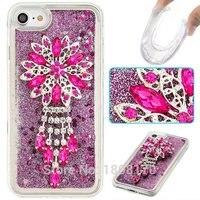 Quicksand Liquid 3D Diamond Soft TPU Case For Iphone 7 I7 6 6S Plus I6 5