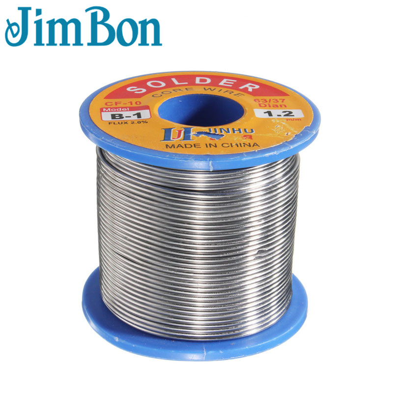 300g 0.5mm 0.8mm 1mm 1.2mm 2mm Iron Reel Roll Welding Wire Welding Solder Wire 63/37 Tin Lead 1.2% Flux Soldering