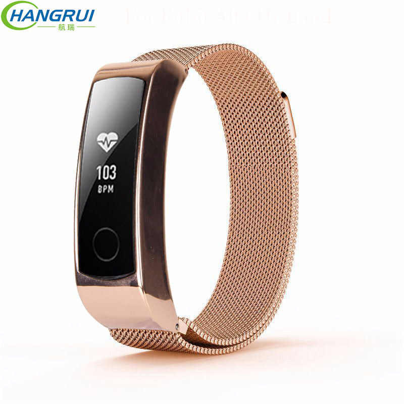 Smartwatch Wirstband for Huawei Honor Band 3 Strap Metal Stainless Steel Bracelet strap for Huawei Band 3 Replacement Accessory