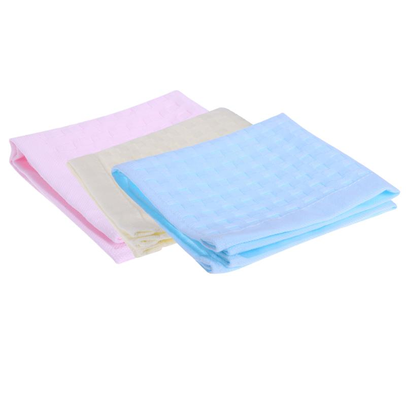 25*25CM Soft Baby Cotton Saliva Towel Double Layer Multi-Functional Face/Bathing/Hand Gauze Towel Wash Cloth Square Gauze Towel