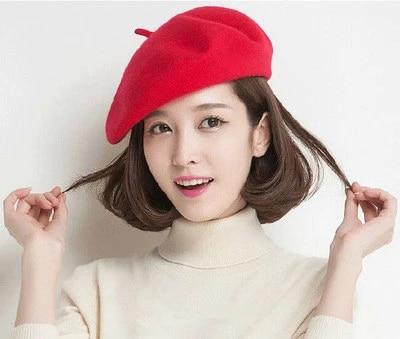 Details about  /Warm Winter Beret Beanie Hat Baby Kids Ski Cap Solid Hat Sweet French Artist W
