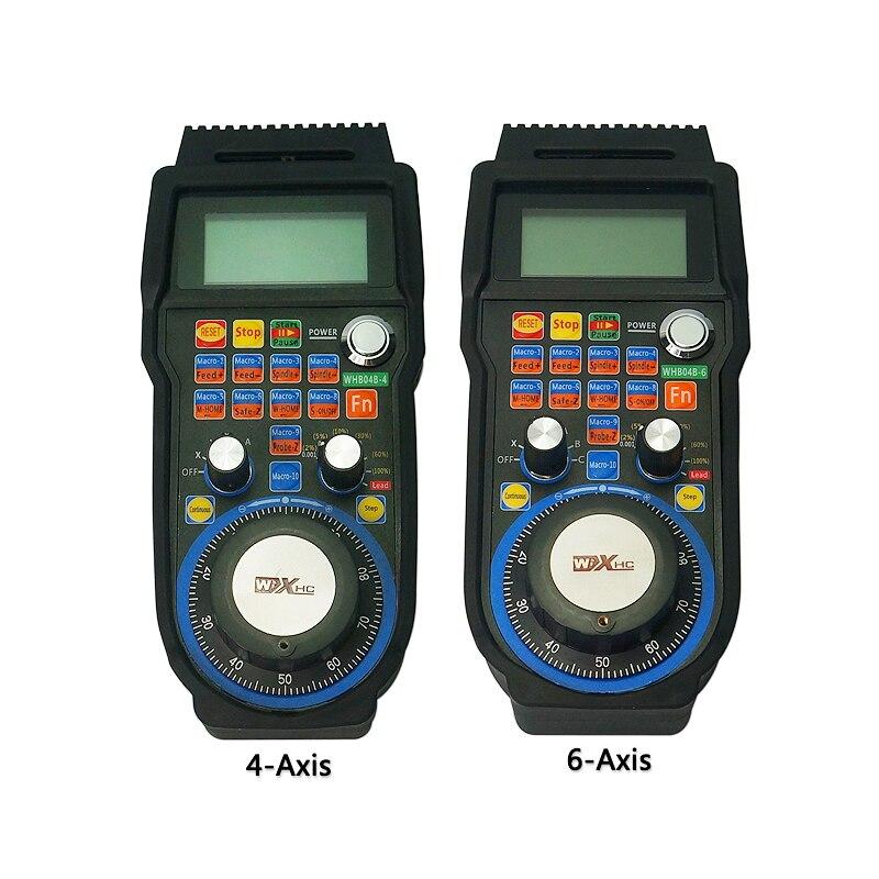 4 assi CNC 6 Assi Wireless Mach3 MPG Ciondolo Volante di comando e chiusura Controller per la Macchina di CNC tornio