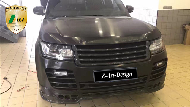 High Quality Carbon Fiber Body Kit For Land Rover Range Rover Vogue