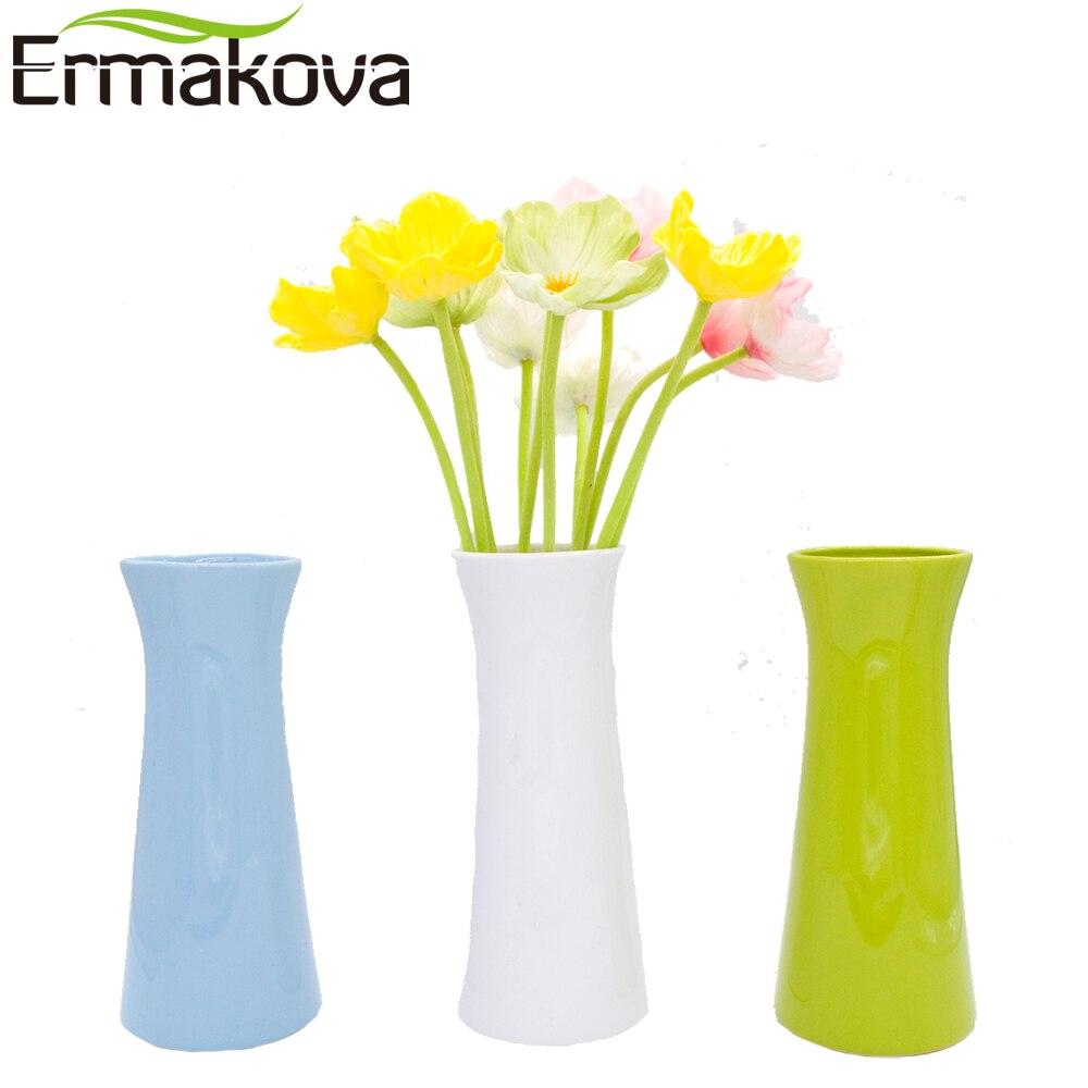 modern flower vase promotionshop for promotional modern flower  - ermakova modern multistyle ceramic vase restaurant bar cafe porcelain bud flowervase ornament home restaurant wedding decor