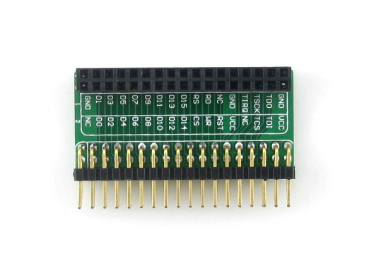 3.2inch LCD Adapter (B) 3.2-inch LCD adapter board LCD interface adapter plate 32I/Os Interface