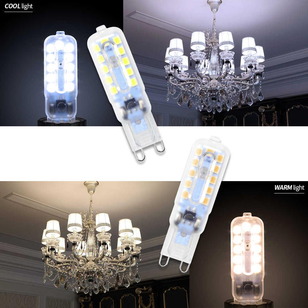 G9 Lampu LED 5W Mini 3W Jagung Bulb G4 LED Dimmable Light 2835 Ampul G9 LED 220V Lilin Cahaya Ganti 30W 40W Lampu Halogen