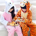 Toddler Boys Pajamas Spring Children Pajamas Autumn Girls Cotton Nightgown Family Pyjamas Combinaison Animal KT Cat Winter