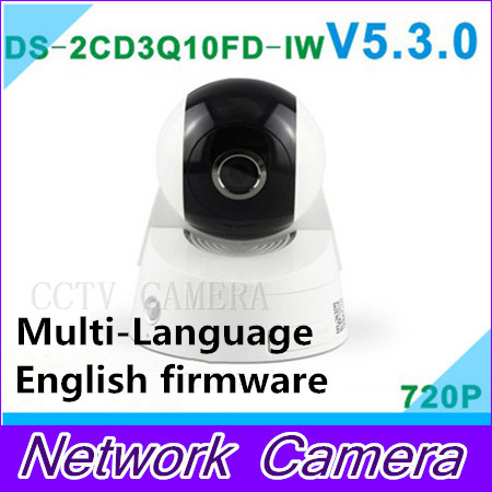 2015 ip font b camera b font DS 2CD3Q10FD IW 720p 1MP PTZ wifi ONVIF SD