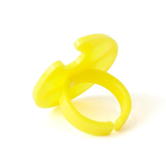 1 Uds Mini anillo paleta placa pintura dibujo acuarela uñas Gel pigmento para esmalte soporte maquillaje manicura caja herramientas JI618