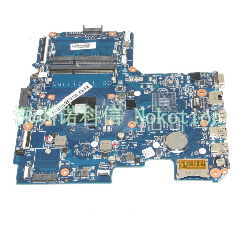 NOKOTION 858044-601 858044-001 Laptop Motherboard For HP 14-AN 14-AN004AU DINERAMD-6050A2822801-MB-A01 A8-7410M CPU DDR3 WORKS nokotion 814507 001 814507 501 6050a2731301 mb a01 laptop motherboard for hp pavilion 14 af em2500 cpu ddr3