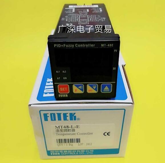 MT48 L E  MT48 V E MT48 R E  FOTEK  PID+Fuzzy Microcomputer Control Mode Temperature Controller 100% New Original