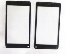 Free Shipping 10pcs/lot Grad A +++ Quality Black Outer Glass Lens For Nokia N9 100% Brand New Hot Sale With Logo
