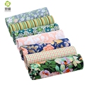 Shuanshuo Flower Twill Cotton Fabric Patchwork Tissue Cloth Of Handmade DIY Quilting Sewing Textile Material Half Meter