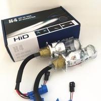 2x 35W Automobile H4 9003 HB2 Hi Lo Beam Spotlight Projector Lens HID XENON Replacement Headlight