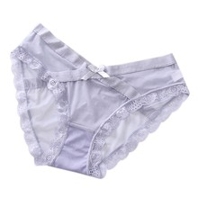 Summer New Maternity Lace Panties Women Underpants Wear Pregnancy Low Waist Underwear Female Breathable Panties Leggings(China)