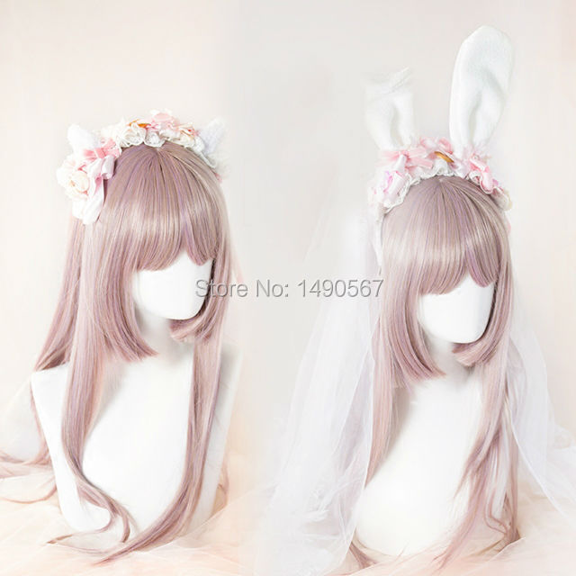 Japanese style Sweet Lolita Handmade Headwear cute bow bunny ear cat ear Cosplay rabbit headband Party Accessory