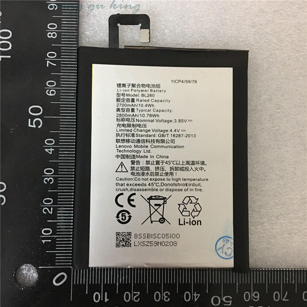 100% Original Hohe Qualität 3,85 V 2700 mAh BL260 Für Lenovo Vibe S1 Lite S1La40 Batterie