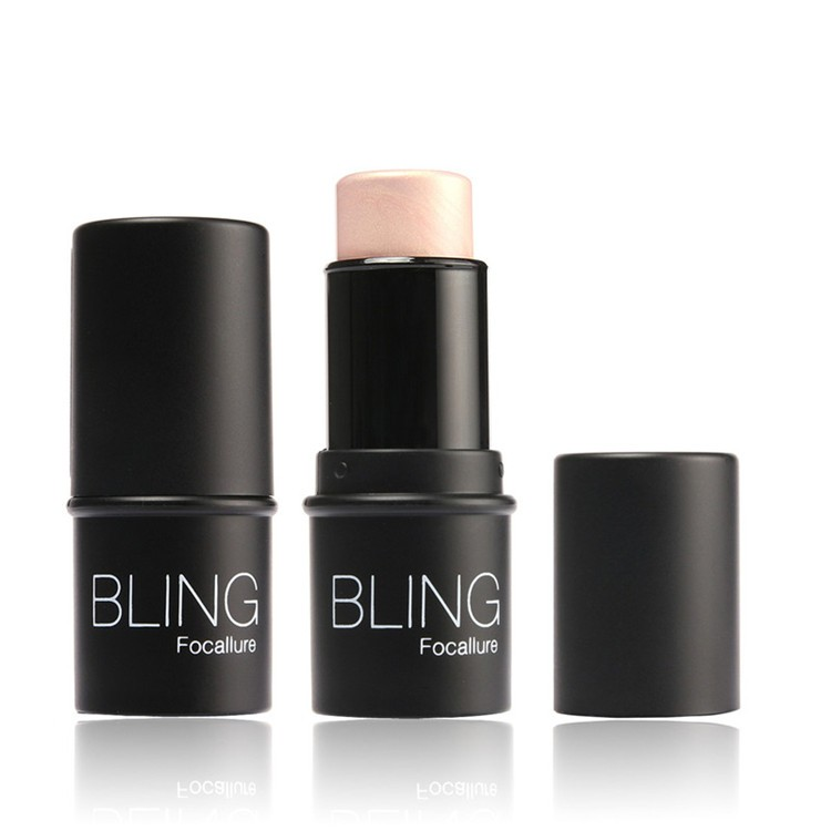 Focallure-Bling-Highlighter-stick-All-Over-Shimmer-Highlighting-Powder-Creamy-Texture-Water-proof-Silver-Shimmer-Light
