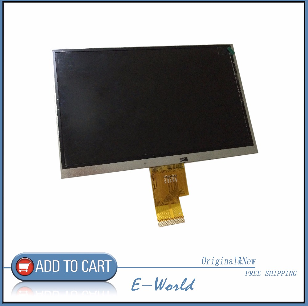 Original 7inch LCD screen SL007DF02FPC-V0 SL007DF02FPC for tablet pc free shipping power pw6236frmks