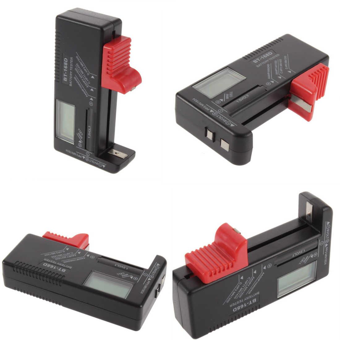 Batterij tester 1pc Universele LCD AA/AAA/C/D/9 V/1.5 V Knop mobiele Batterij Tester BT-168D Digitale display batterij capaciteit tester