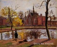 Famous Arts Reproduction Dulwich College, London Camille Pissarro oil Paintings High quality Hand painted