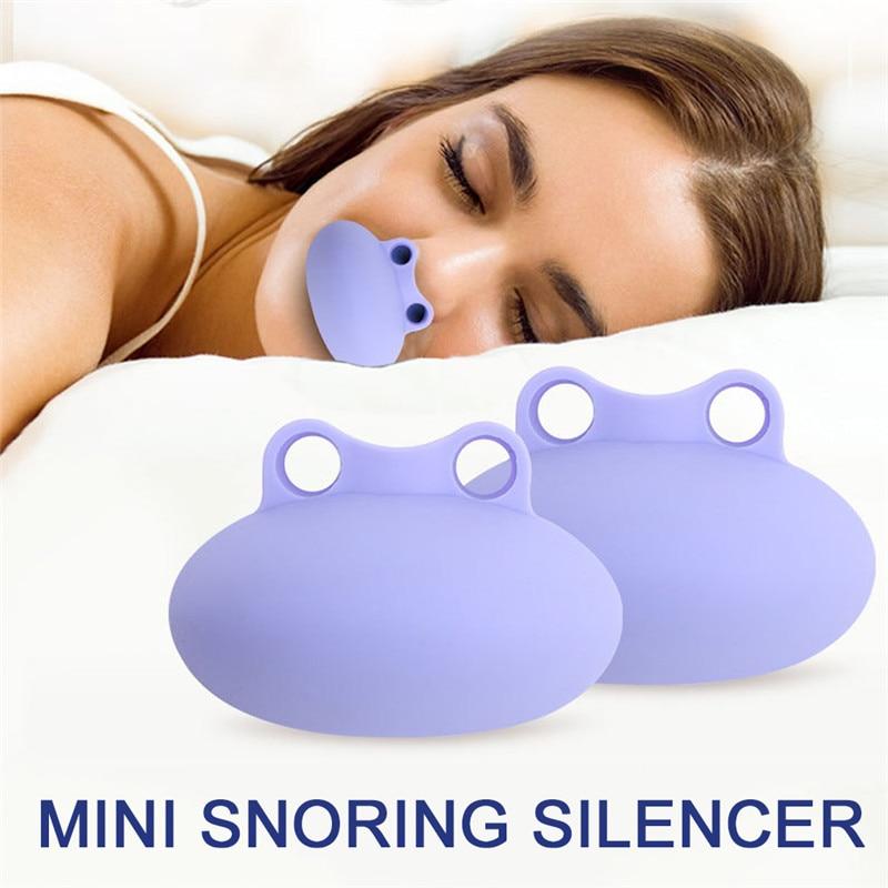 Forma de sapo mini nariz respirador evitar ronco dormir ajuda parar nasal snore ventilação respiração suave à noite