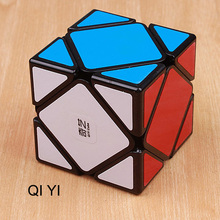 QiYi QiCheng A Professional Skew Magic Cube Block Square Cube Speed Puzzle Game Cube Magico Brain Teaser Toy For Kids qiyi qicheng skewb speed magic cube 2 on 2 speed cube magic bricks block brain teaser new year gift toys for children