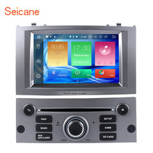Seicane 8-core Android 8.0 4GB RAM 32GB ROM Car Stereo CD DVD Player for 2004-2010 Peugeot 407 GPS Navigation system(China)