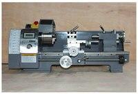 750W400mm обработки Длина небольшой токарный станок Многофункциональный дома деревообрабатывающей поворота металлических машина DIY станок